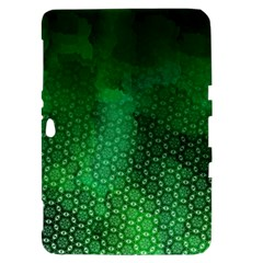 Ombre Green Abstract Forest Samsung Galaxy Tab 8.9  P7300 Hardshell Case