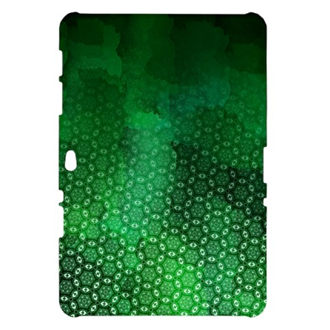 Ombre Green Abstract Forest Samsung Galaxy Tab 10.1  P7500 Hardshell Case