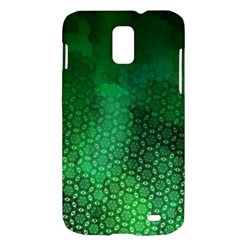 Ombre Green Abstract Forest Samsung Galaxy S II Skyrocket Hardshell Case
