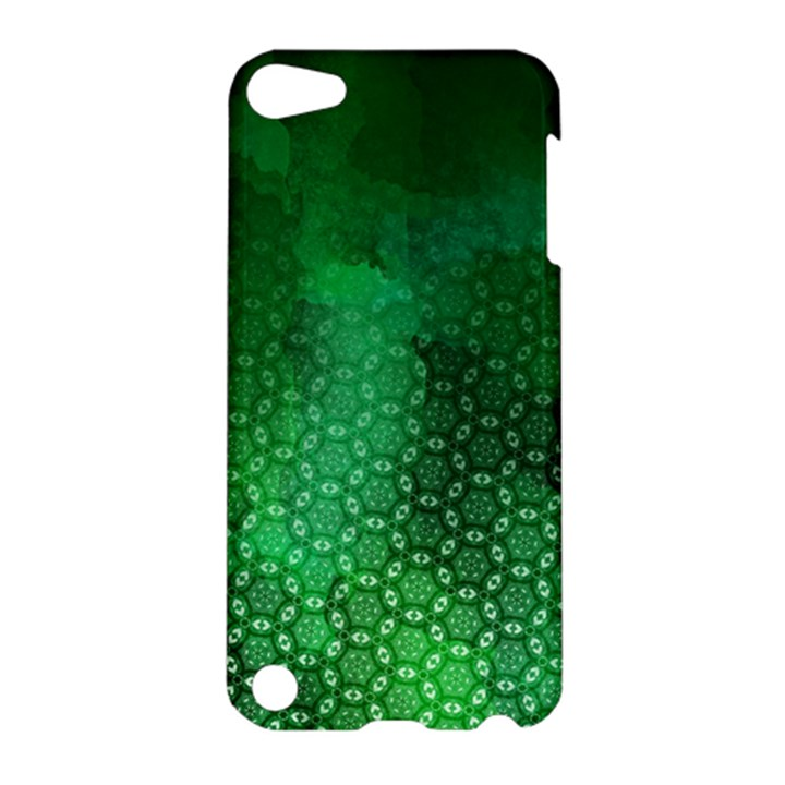 Ombre Green Abstract Forest Apple iPod Touch 5 Hardshell Case