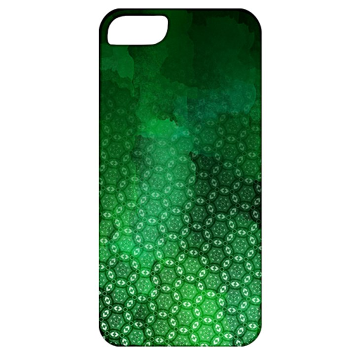Ombre Green Abstract Forest Apple iPhone 5 Classic Hardshell Case