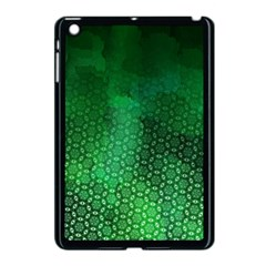Ombre Green Abstract Forest Apple Ipad Mini Case (black)