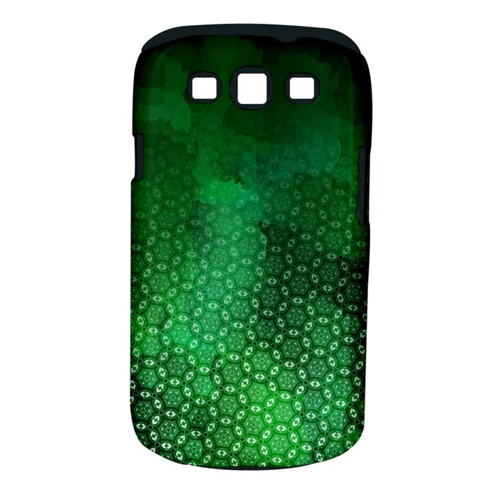 Ombre Green Abstract Forest Samsung Galaxy S III Classic Hardshell Case (PC+Silicone)