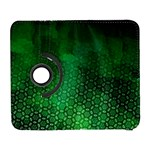 Ombre Green Abstract Forest Samsung Galaxy S  III Flip 360 Case Front