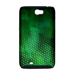 Ombre Green Abstract Forest Samsung Galaxy Note 2 Hardshell Case (PC+Silicone)