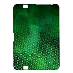 Ombre Green Abstract Forest Kindle Fire HD 8.9