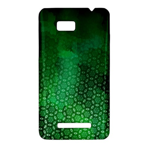 Ombre Green Abstract Forest HTC One SU T528W Hardshell Case