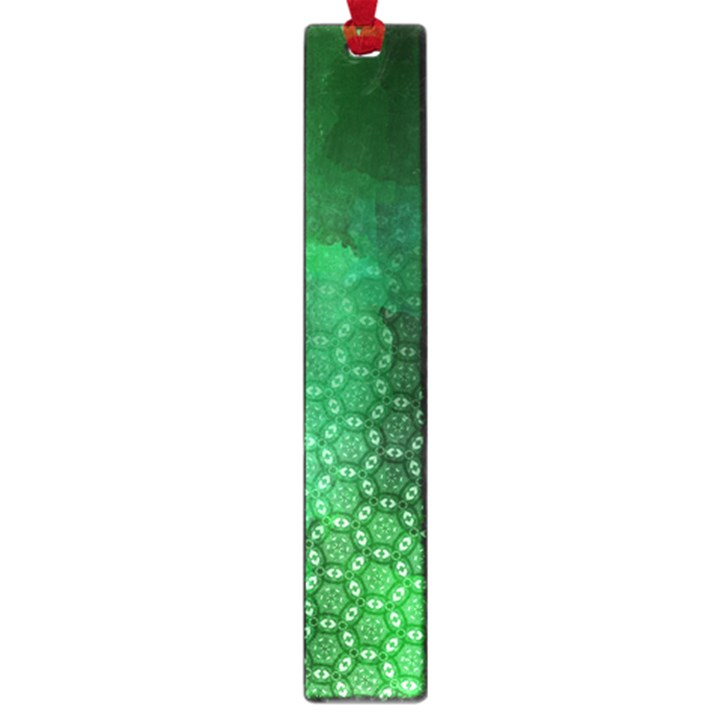 Ombre Green Abstract Forest Large Book Marks