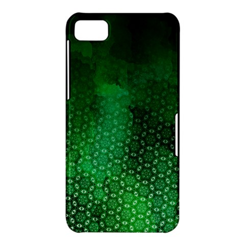 Ombre Green Abstract Forest BlackBerry Z10