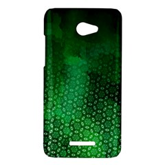 Ombre Green Abstract Forest HTC Butterfly X920E Hardshell Case