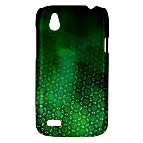 Ombre Green Abstract Forest HTC Desire V (T328W) Hardshell Case