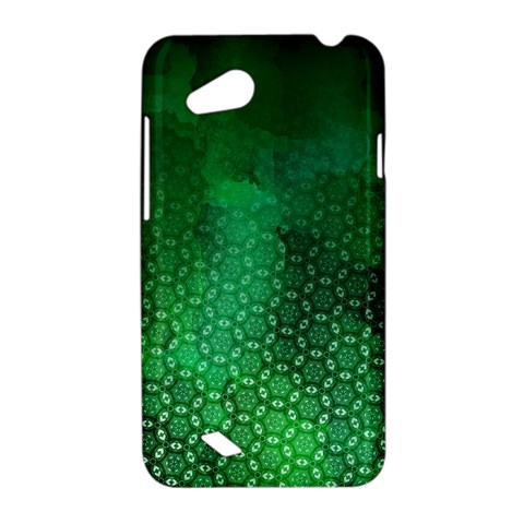 Ombre Green Abstract Forest HTC Desire VC (T328D) Hardshell Case