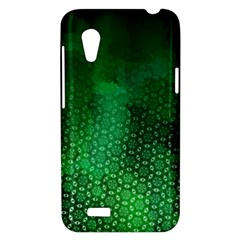 Ombre Green Abstract Forest HTC Desire VT (T328T) Hardshell Case