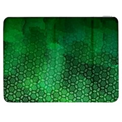Ombre Green Abstract Forest Samsung Galaxy Tab 7  P1000 Flip Case