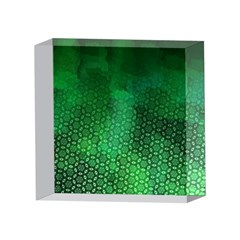 Ombre Green Abstract Forest 4 x 4  Acrylic Photo Blocks