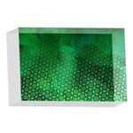 Ombre Green Abstract Forest 4 x 6  Acrylic Photo Blocks Front