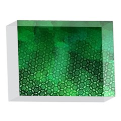 Ombre Green Abstract Forest 5 x 7  Acrylic Photo Blocks