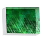 Ombre Green Abstract Forest 5 x 7  Acrylic Photo Blocks Front