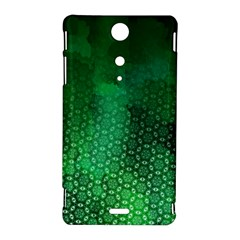 Ombre Green Abstract Forest Sony Xperia TX