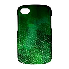 Ombre Green Abstract Forest BlackBerry Q10