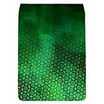 Ombre Green Abstract Forest Flap Covers (S)  Front