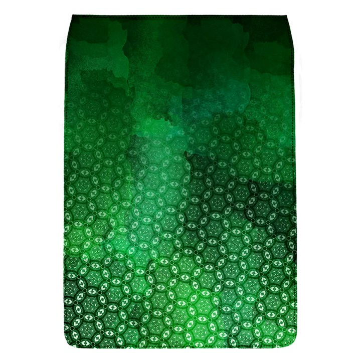 Ombre Green Abstract Forest Flap Covers (S)
