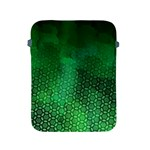 Ombre Green Abstract Forest Apple iPad 2/3/4 Protective Soft Cases Front