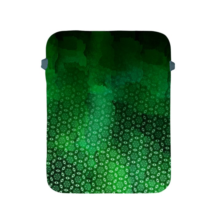 Ombre Green Abstract Forest Apple iPad 2/3/4 Protective Soft Cases