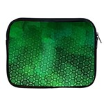 Ombre Green Abstract Forest Apple iPad 2/3/4 Zipper Cases Front