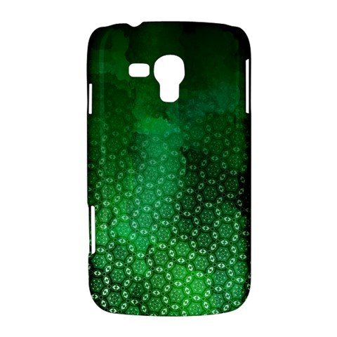 Ombre Green Abstract Forest Samsung Galaxy Duos I8262 Hardshell Case