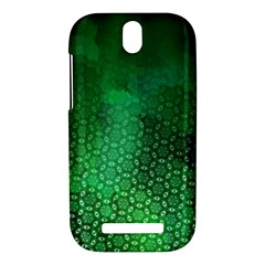 Ombre Green Abstract Forest HTC One SV Hardshell Case