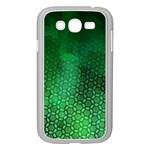 Ombre Green Abstract Forest Samsung Galaxy Grand DUOS I9082 Case (White) Front