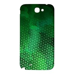 Ombre Green Abstract Forest Samsung Note 2 N7100 Hardshell Back Case