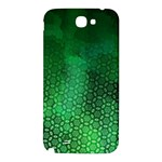 Ombre Green Abstract Forest Samsung Note 2 N7100 Hardshell Back Case Front