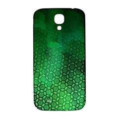 Ombre Green Abstract Forest Samsung Galaxy S4 I9500/I9505  Hardshell Back Case