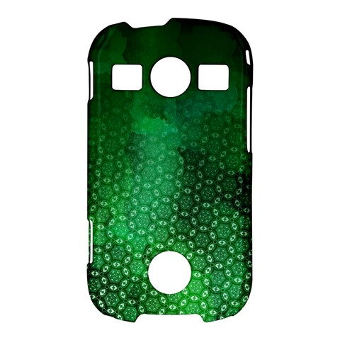 Ombre Green Abstract Forest Samsung Galaxy S7710 Xcover 2 Hardshell Case