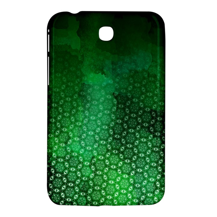 Ombre Green Abstract Forest Samsung Galaxy Tab 3 (7 ) P3200 Hardshell Case