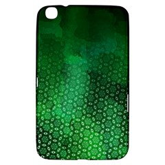 Ombre Green Abstract Forest Samsung Galaxy Tab 3 (8 ) T3100 Hardshell Case