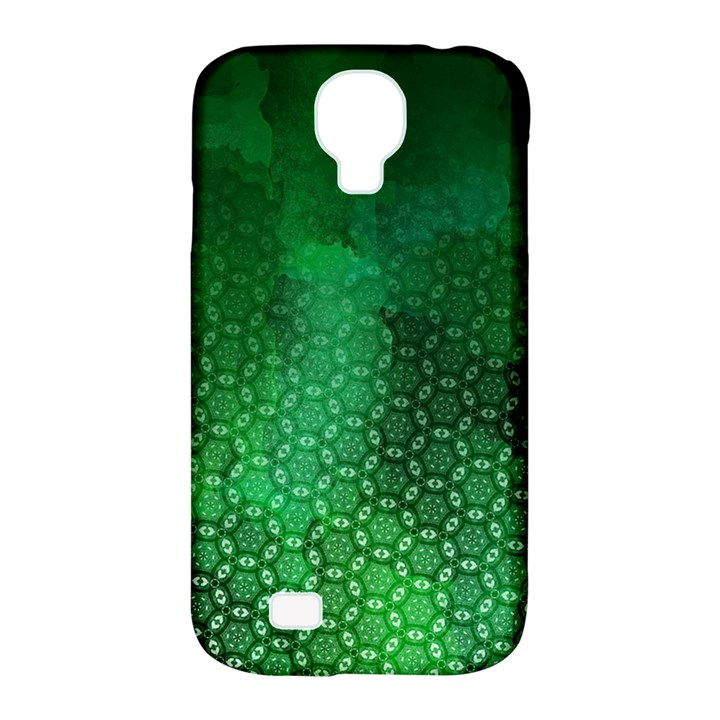 Ombre Green Abstract Forest Samsung Galaxy S4 Classic Hardshell Case (PC+Silicone)