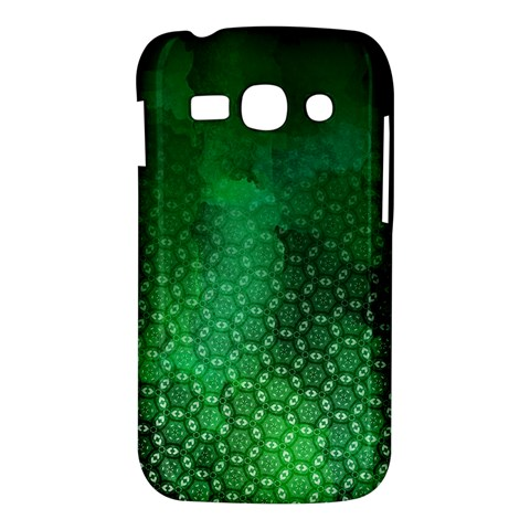 Ombre Green Abstract Forest Samsung Galaxy Ace 3 S7272 Hardshell Case