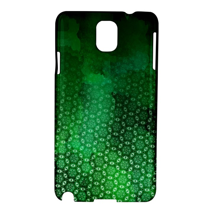 Ombre Green Abstract Forest Samsung Galaxy Note 3 N9005 Hardshell Case
