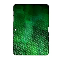 Ombre Green Abstract Forest Samsung Galaxy Tab 2 (10.1 ) P5100 Hardshell Case