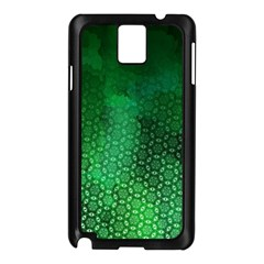 Ombre Green Abstract Forest Samsung Galaxy Note 3 N9005 Case (black)