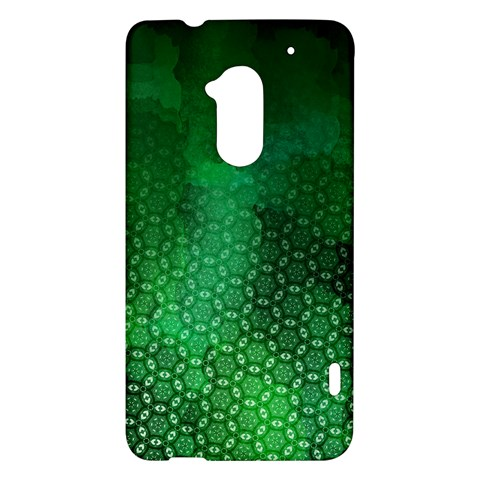 Ombre Green Abstract Forest HTC One Max (T6) Hardshell Case
