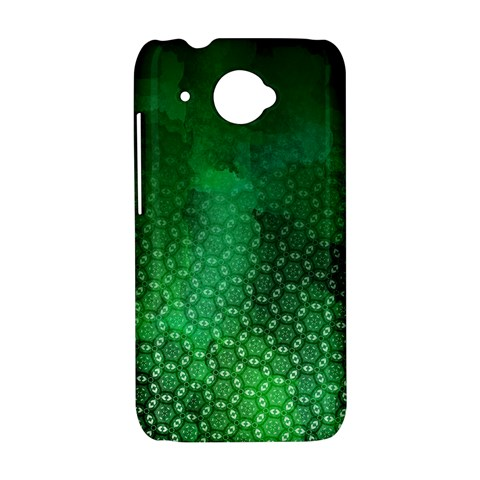 Ombre Green Abstract Forest HTC Desire 601 Hardshell Case