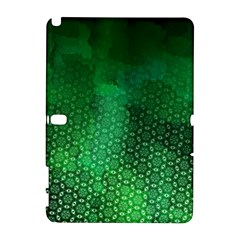 Ombre Green Abstract Forest Samsung Galaxy Note 10.1 (P600) Hardshell Case