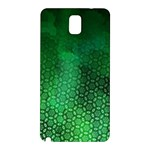 Ombre Green Abstract Forest Samsung Galaxy Note 3 N9005 Hardshell Back Case Front