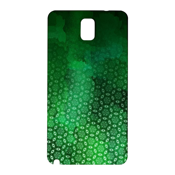 Ombre Green Abstract Forest Samsung Galaxy Note 3 N9005 Hardshell Back Case