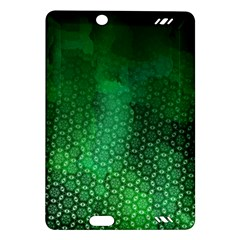 Ombre Green Abstract Forest Amazon Kindle Fire HD (2013) Hardshell Case