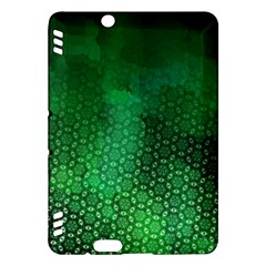 Ombre Green Abstract Forest Kindle Fire Hdx Hardshell Case